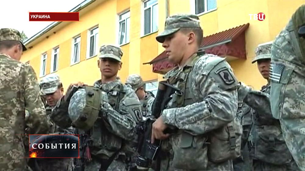 Военные сил НАТО на Украине