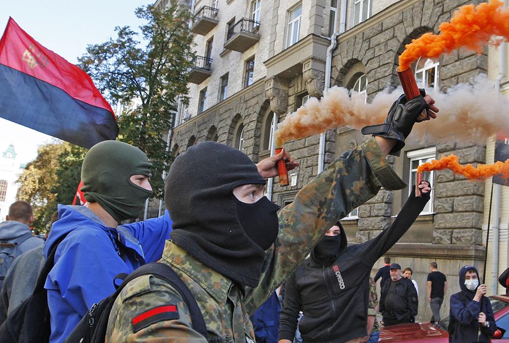 """Митинг радикалов """"Правого сектора"""""""