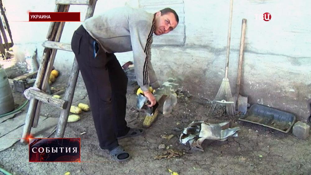 Житель Украины