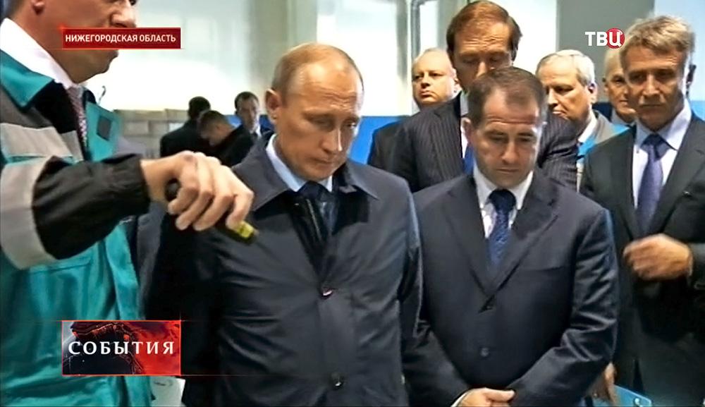 Владимир Путин прибыл с рабочей поездкой в Нижегородскую область