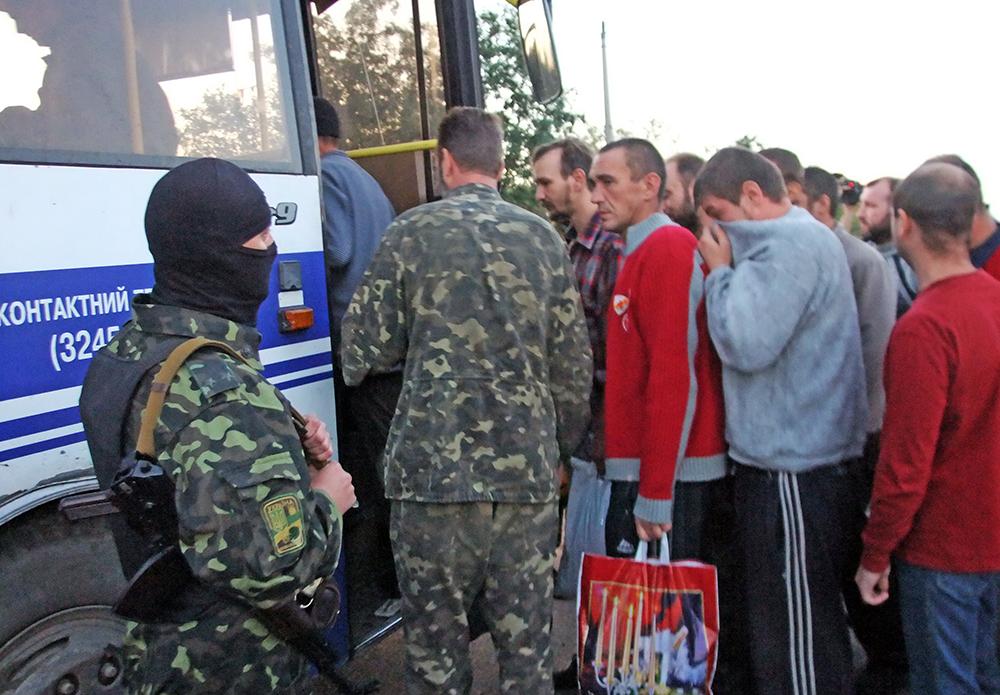 Обмен пленными между Киевом и Донецкой народной республикой