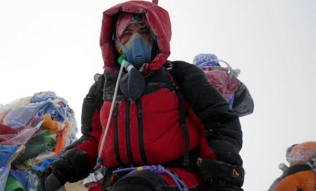 Альпинистка Лейла Албогачиева