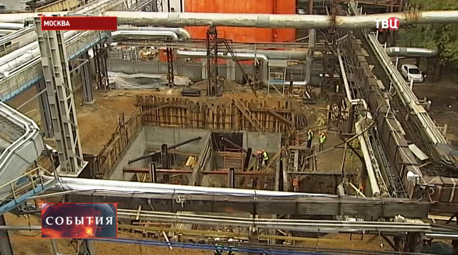 Строительство энергоблока в ЗАО