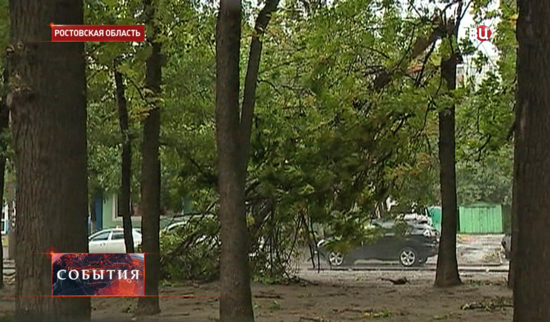 Ураган в Ростовской области