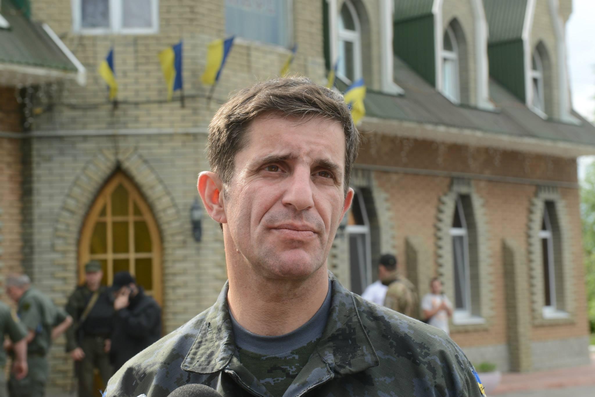 Советник главы МВД Украины Зорян Шкиряк