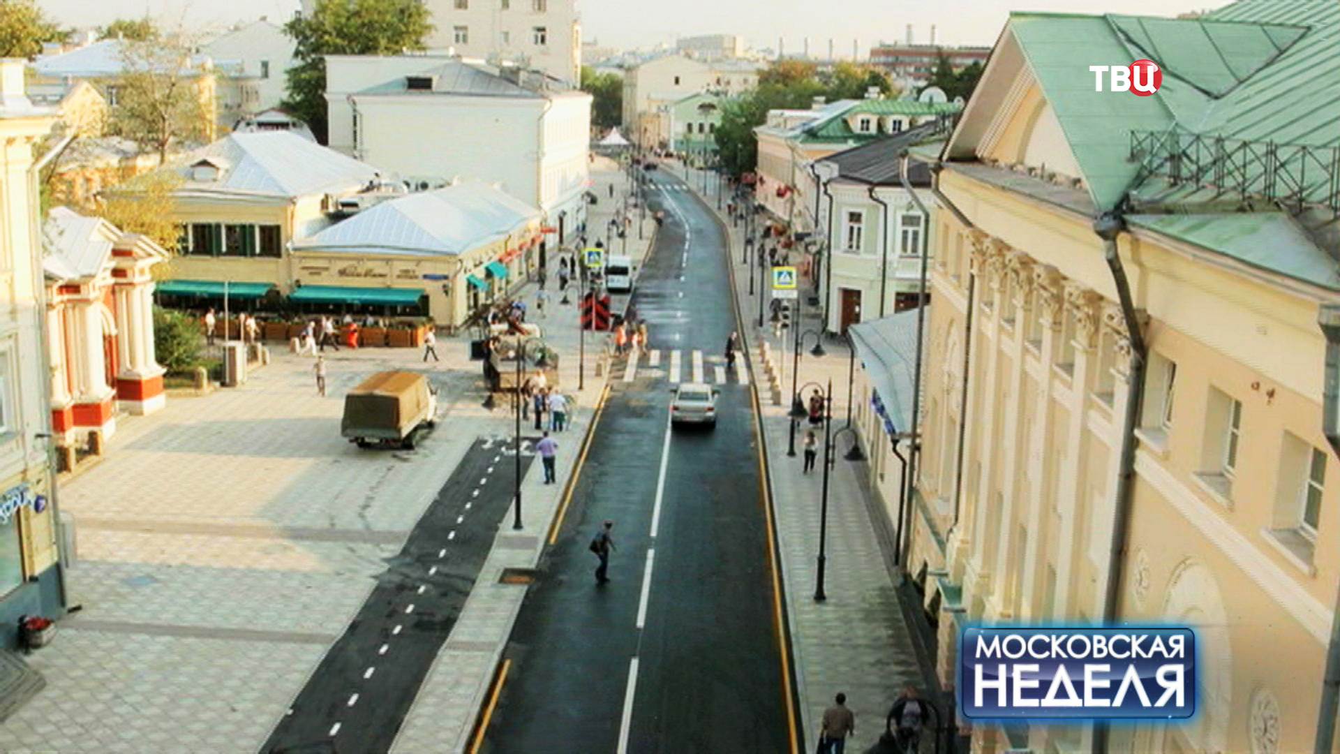 Вид на улицу Пятницкая