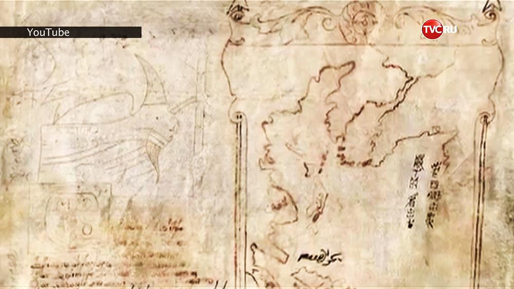 Старинные карты итальянского путешественника Марко Поло
