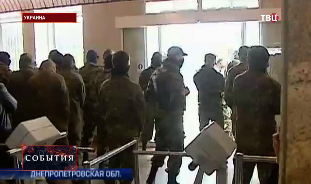 Рейдейский захват предприятия в Днепропетровской области