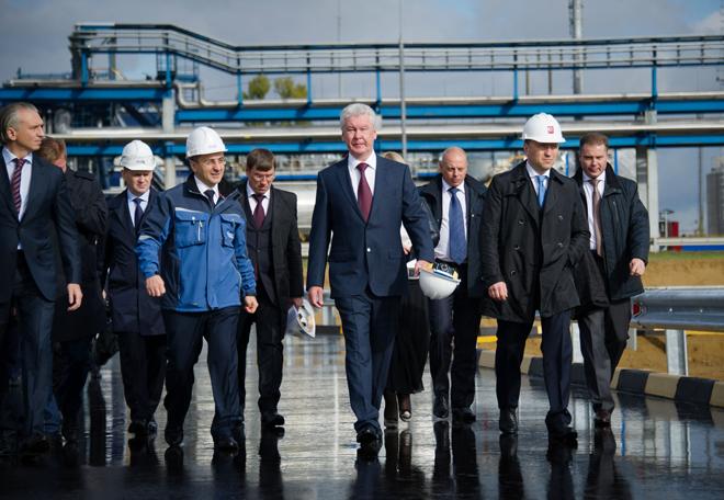 Сергей Собянин посетил Газпромнефть