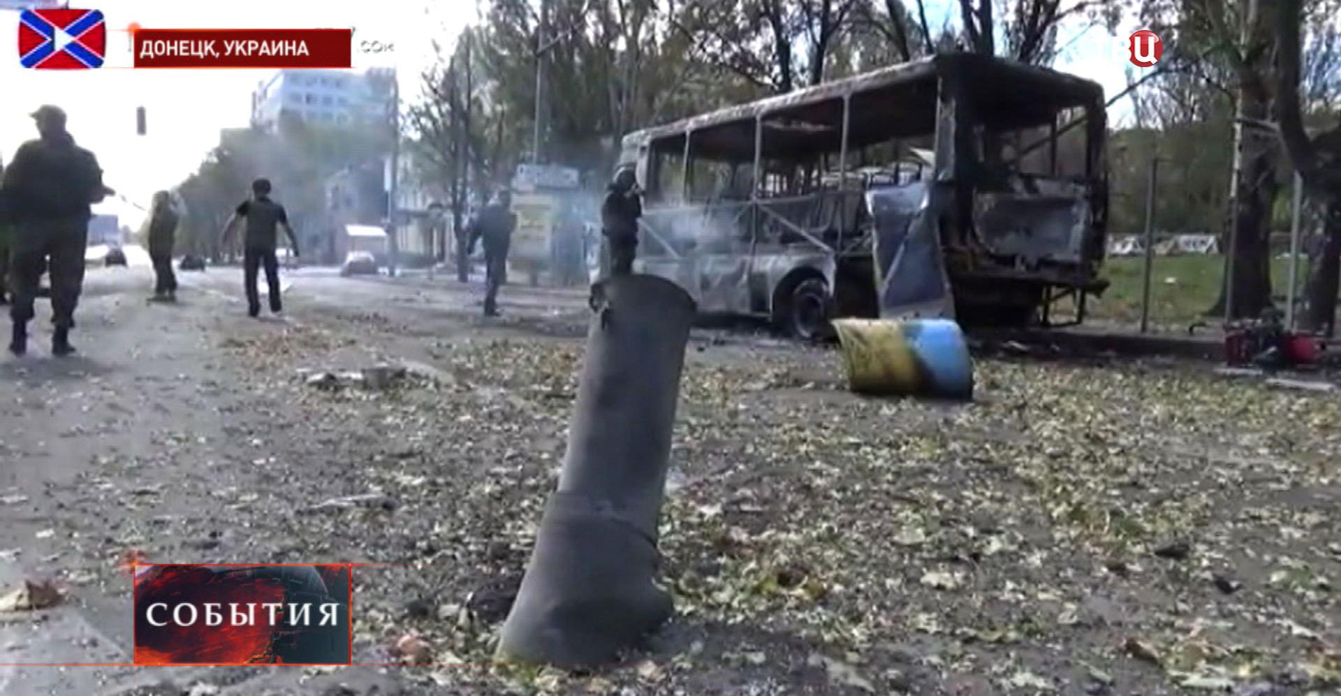 Стрельба в Донецке