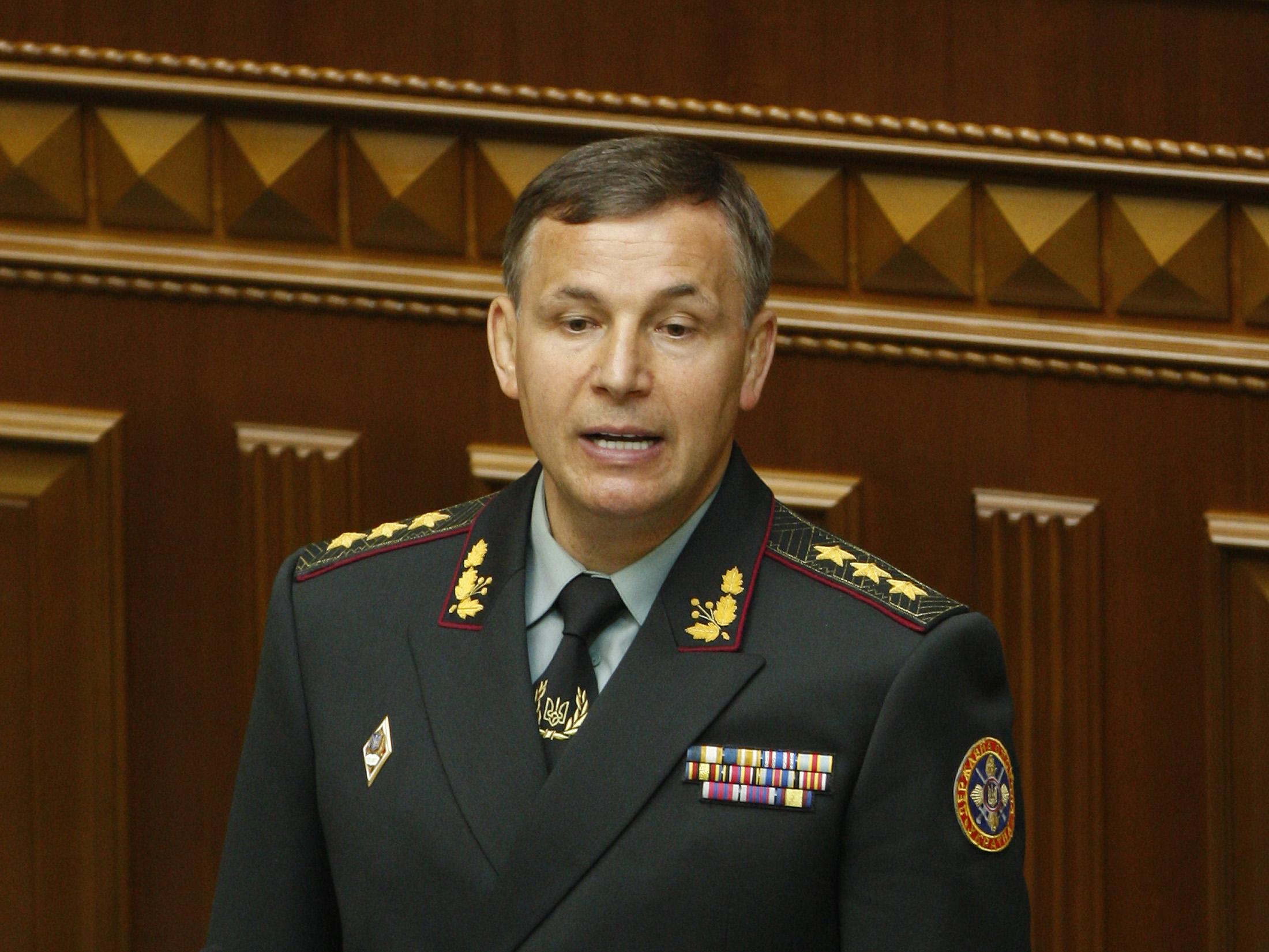 Экс-министр обороны Украины Валерий Гелетей