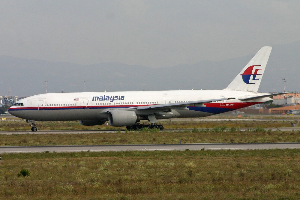 Разбившийся Boeing 777 за 3 года до катастрофы
