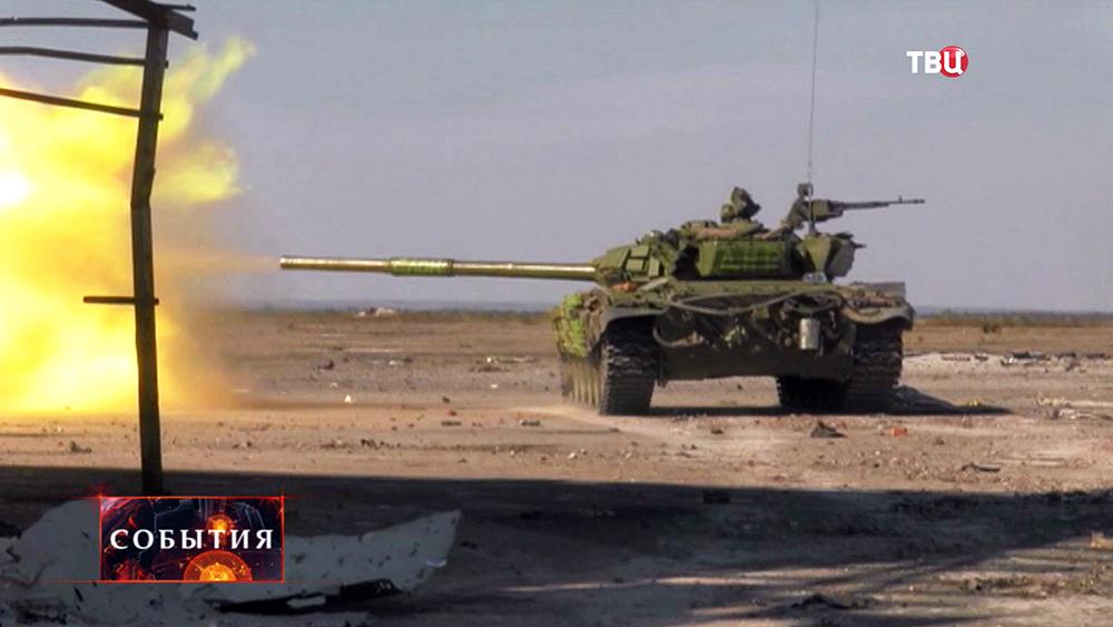 Военные действие на юго-востоке Украины