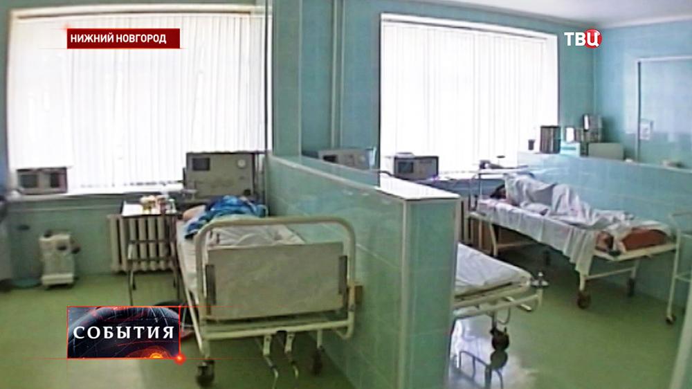 Палата в Нижегородской больнице