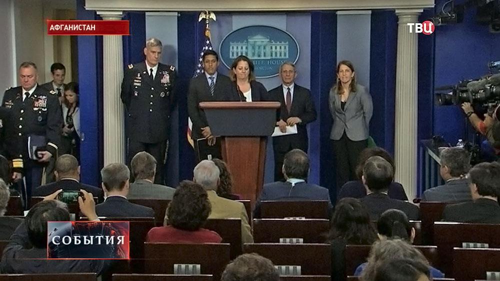 Пресс-конференция в Белом доме а США