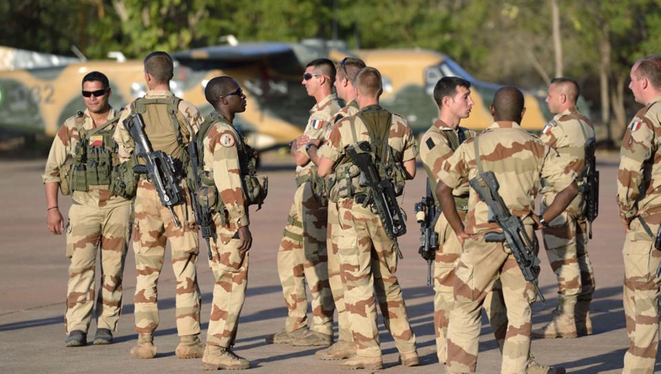 Военнослужащие Франции