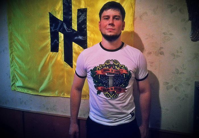 Российский националист Роман Железнов
