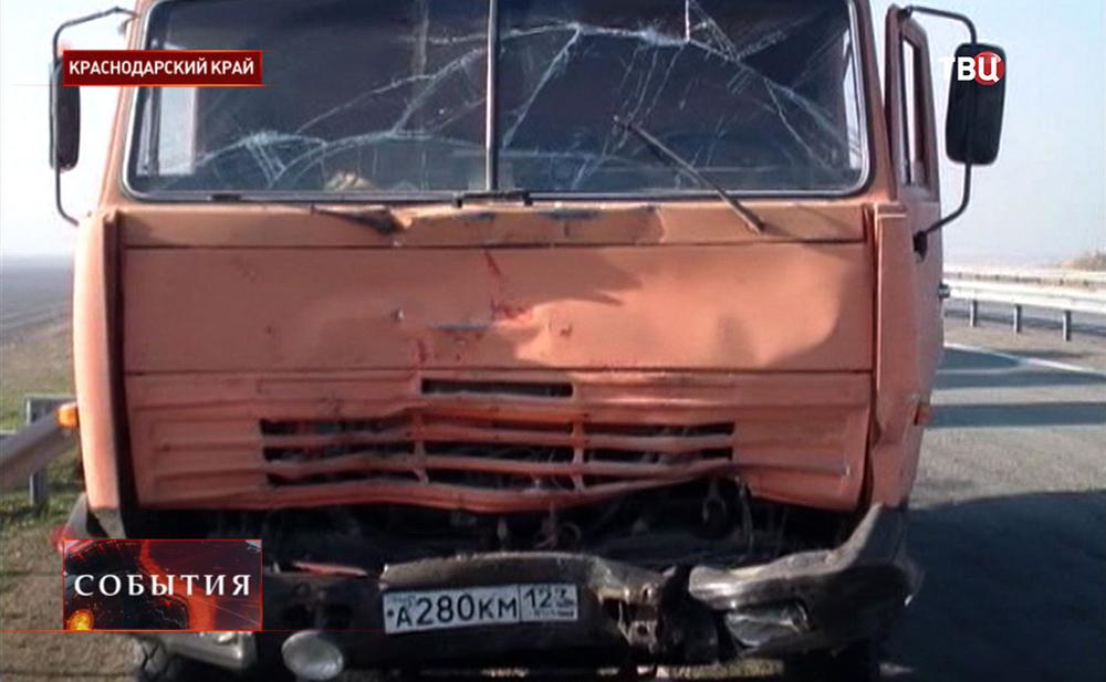 ДТП в Краснодарском крае