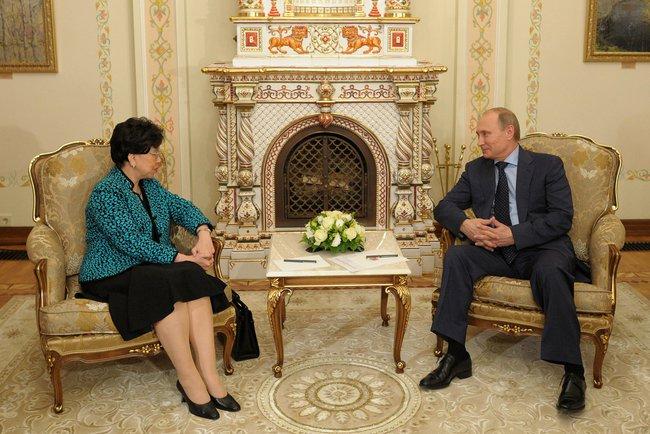 Владимир Путин встретился с генеральным директором Всемирной организации здравоохранения Маргарет Чен