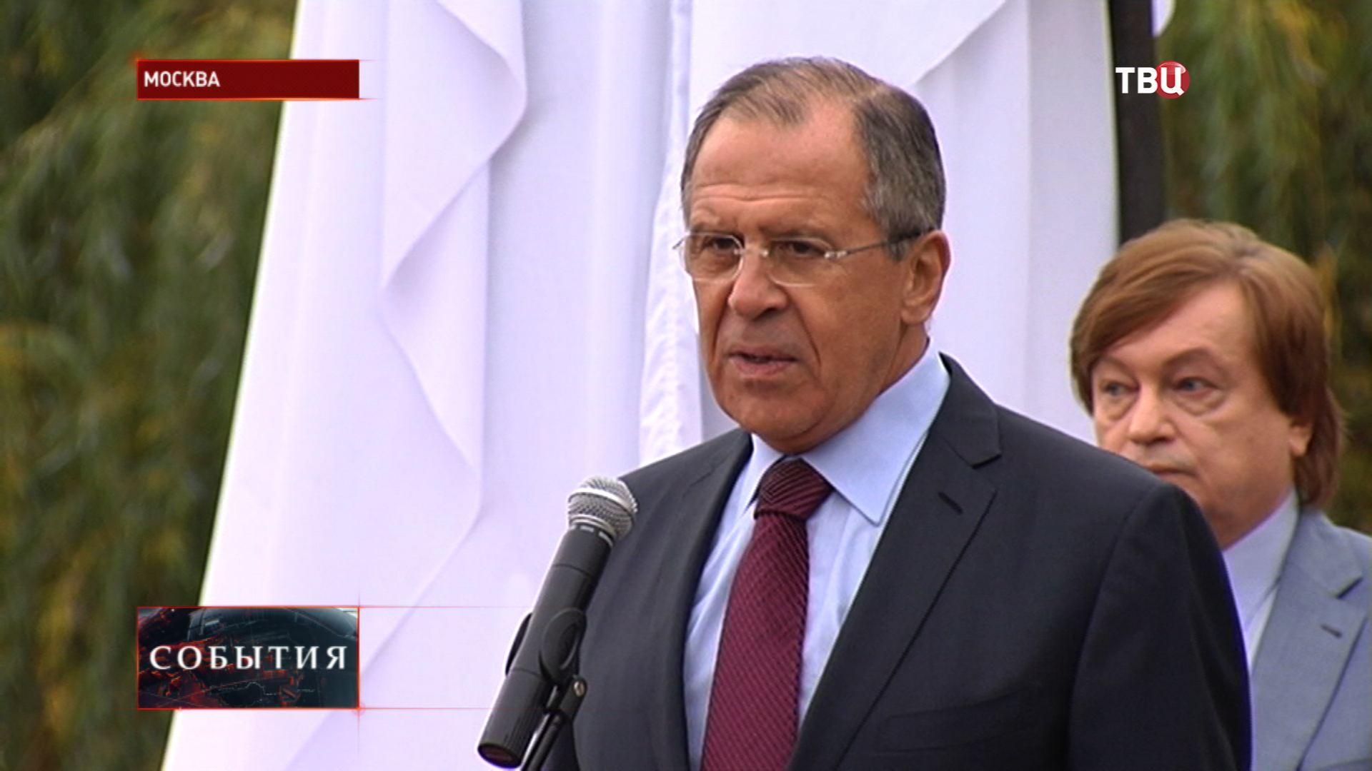 Сергей Лавров на юбилее МГИМО