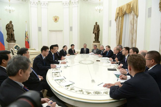 Визит делегации из КНР в Москву