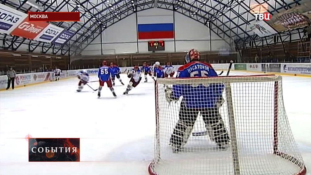Матч в честь дня рождения хоккеиста Алексея Касатонова