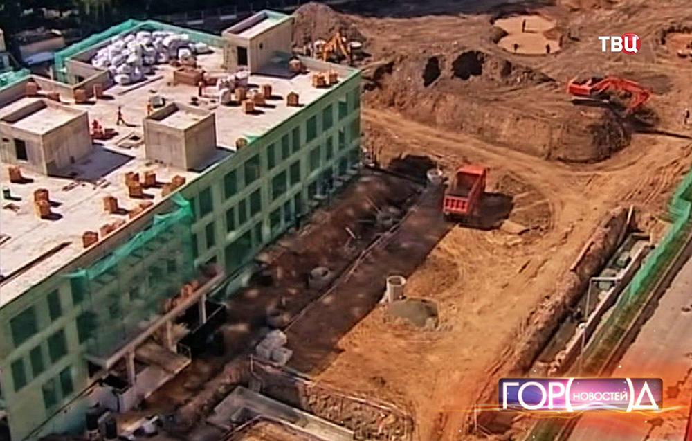 Строительство новой больницы