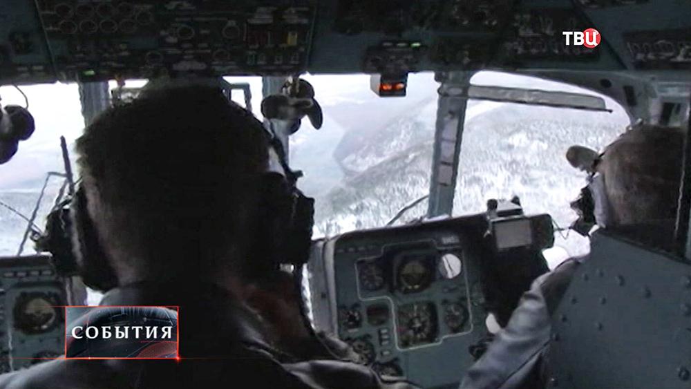 Поиски вертолета Ми-8