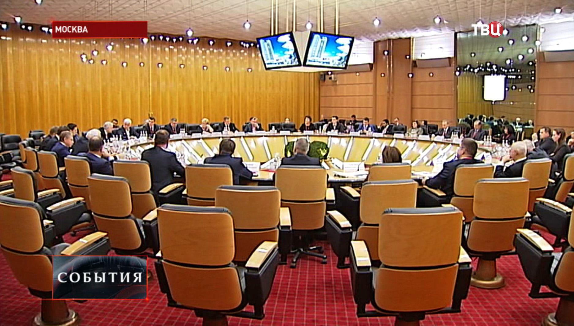 Заседание рабочей группы Москва-Белоруссия