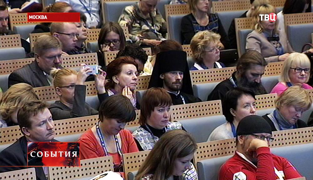 """Участники международного форума """"Религия и мир"""""""