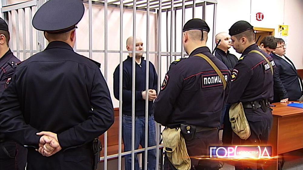 Националист Даниил Константинов в суде
