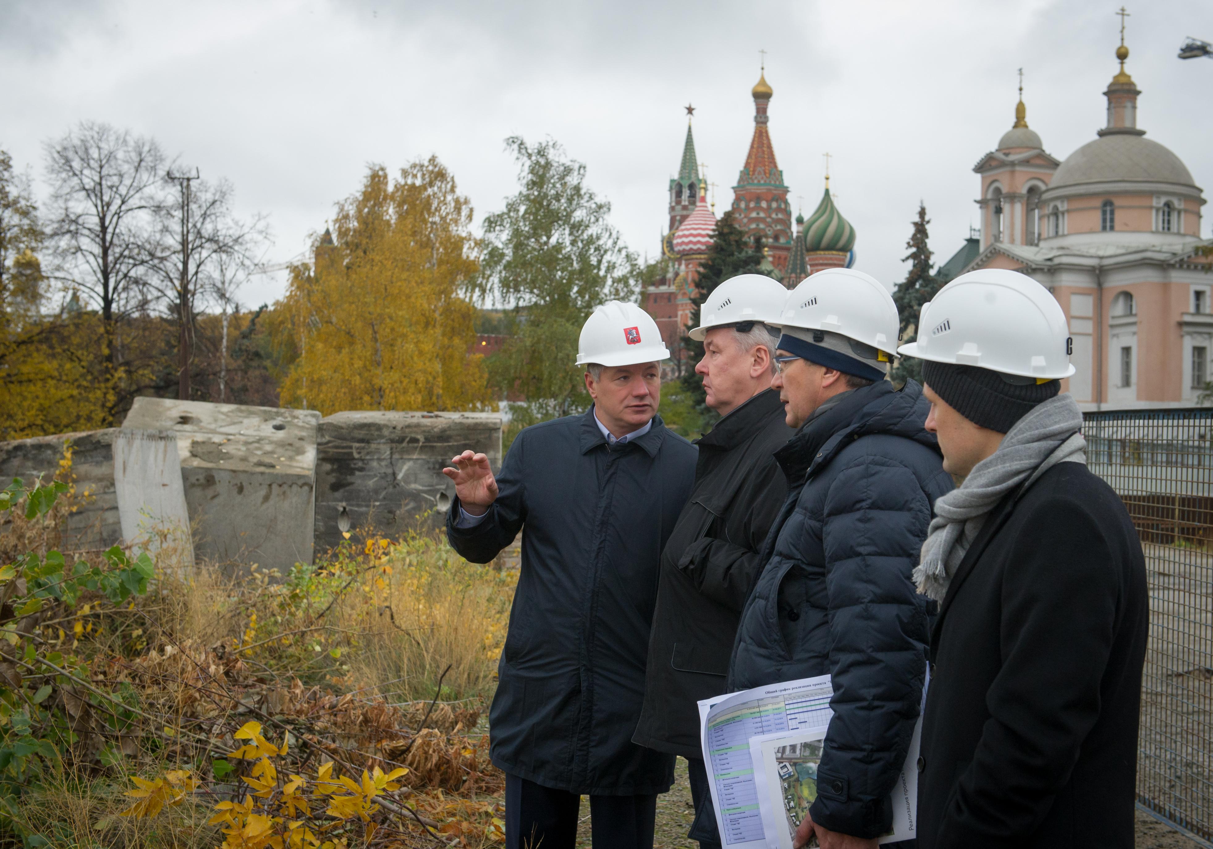 Реставрация храмов Патриаршего подворья