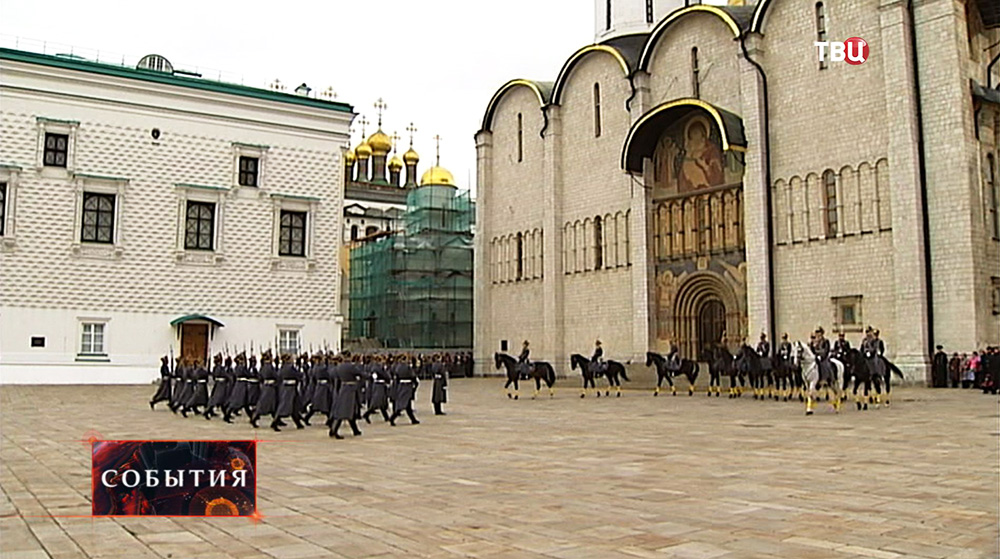 Соборная площадь в Кремле