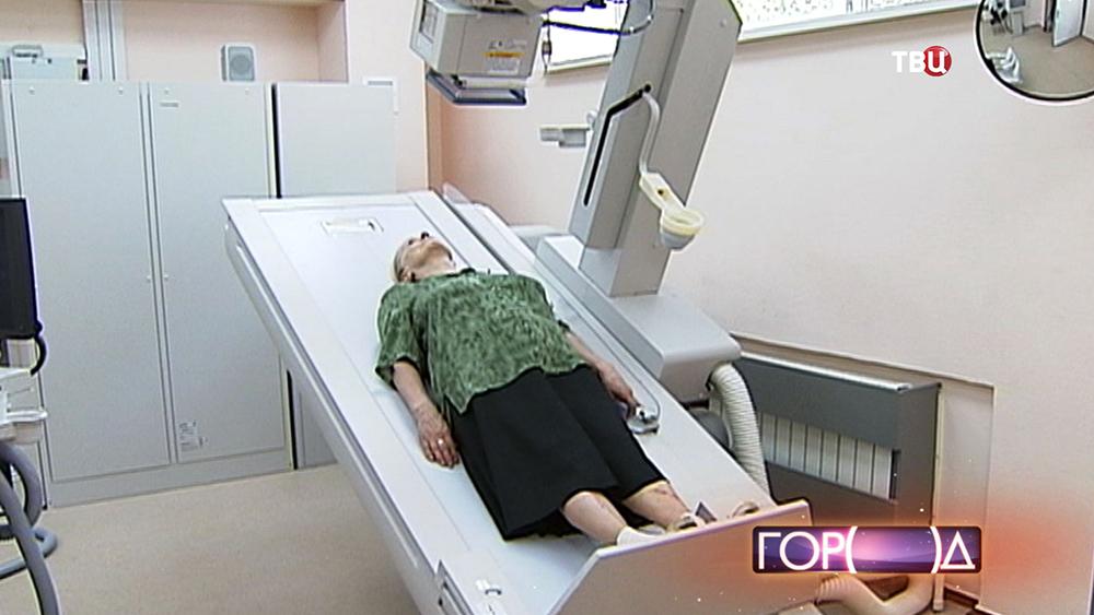 Новая медтехника в поликлинике