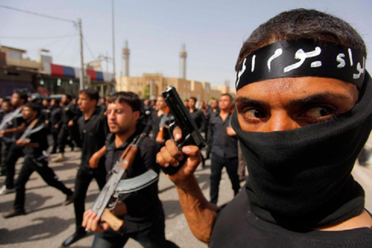 """Боевики группировки """"Исламское государство"""""""
