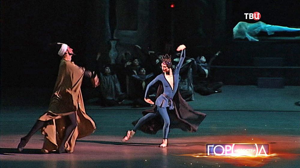 """Балетная постановка """"Легенда о любви"""" в Большом театре"""