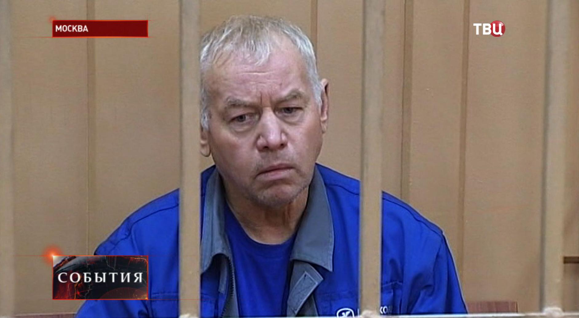 Водитель снегоуборочной машины Владимир Мартыненко в зале суда
