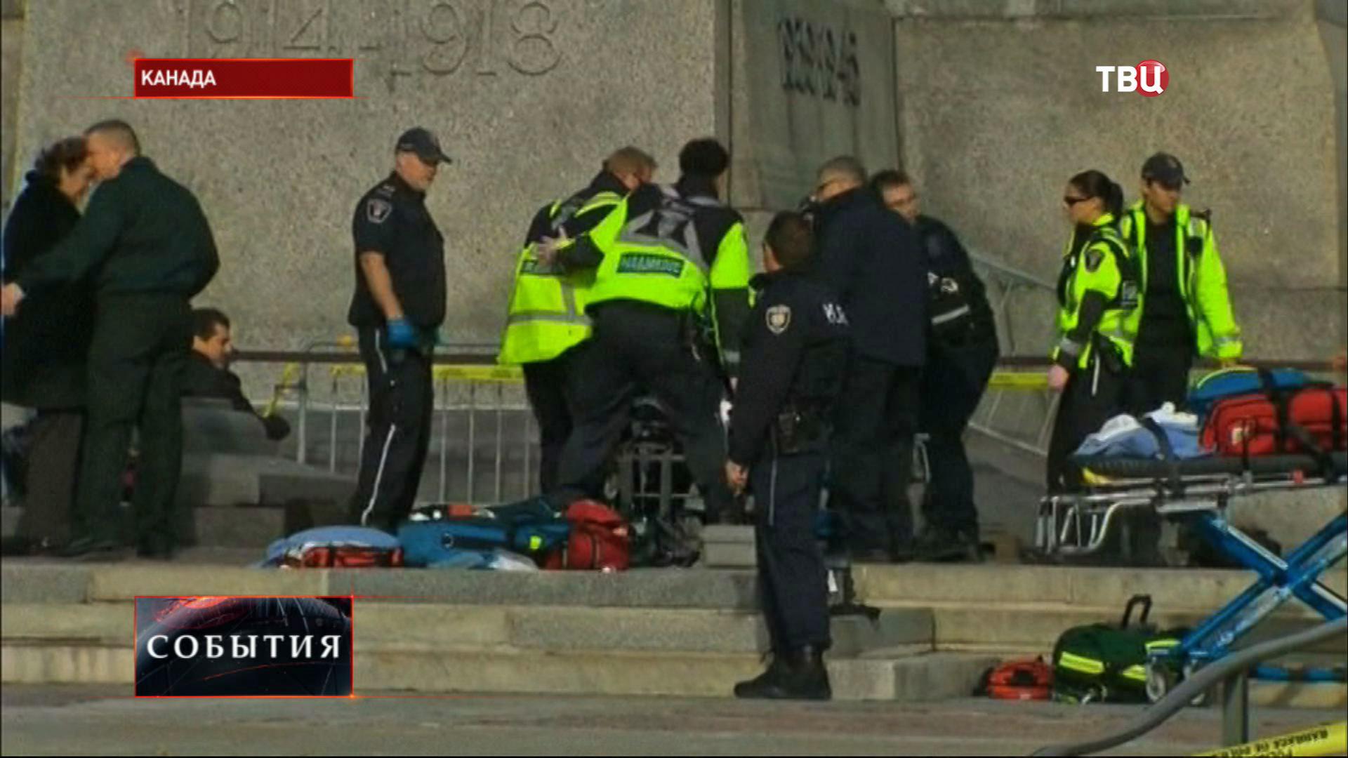 Стрельба у здания парламента в Оттаве