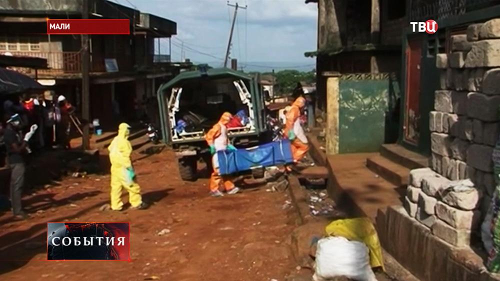 Вспышка лихорадки Эбола в Мали