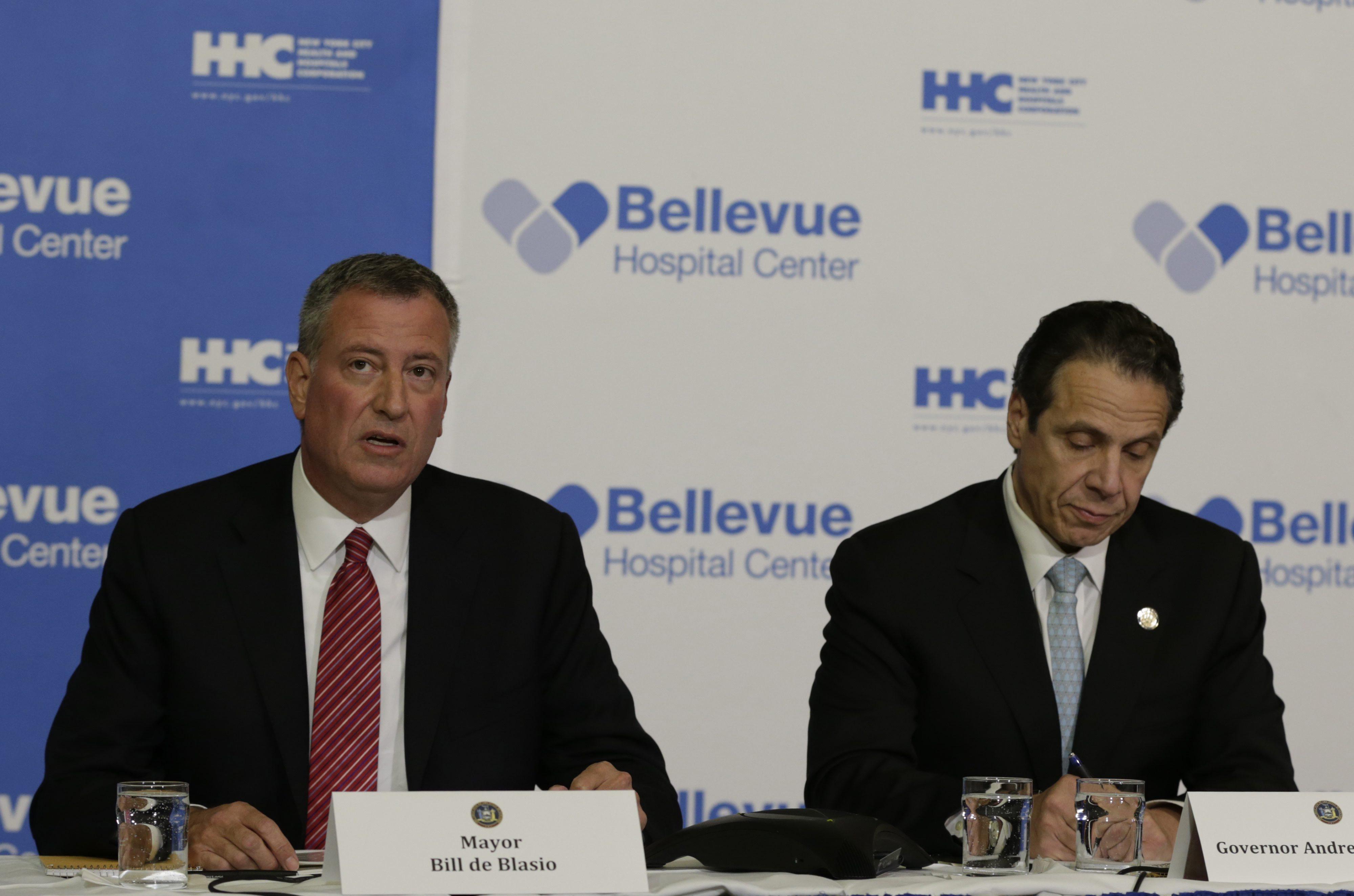 Пресс-конференция в Нью-Йорке по проблеме распространения вируса Эбола