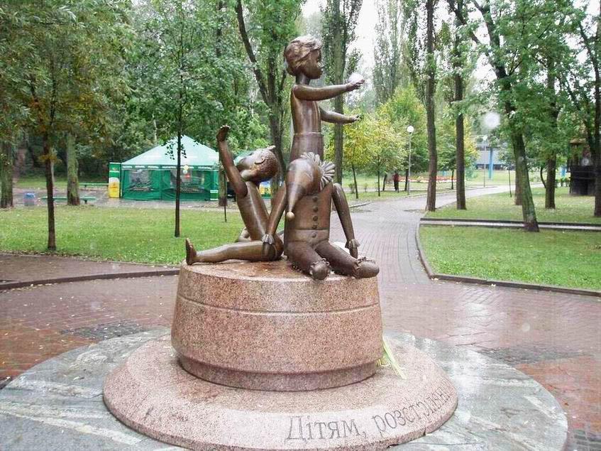 Памятник погибшим детям в Бабьем Яру