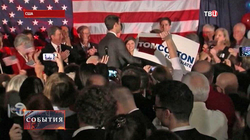 Представитель республиканцев одержал победу