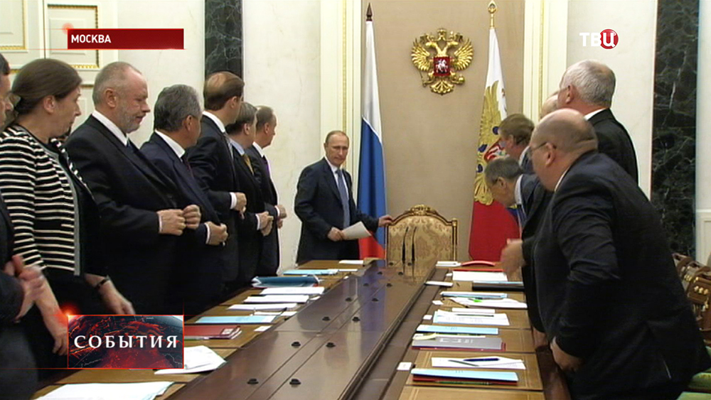 Владимир Путин провёл заседание комиссии по военно-техническому сотрудничеству