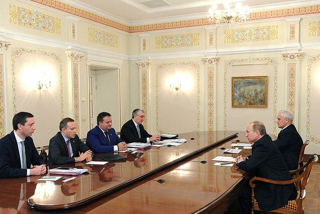 Владимир Путин провёл встречу с директорами Агентства стратегических инициатив по продвижению новых проектов