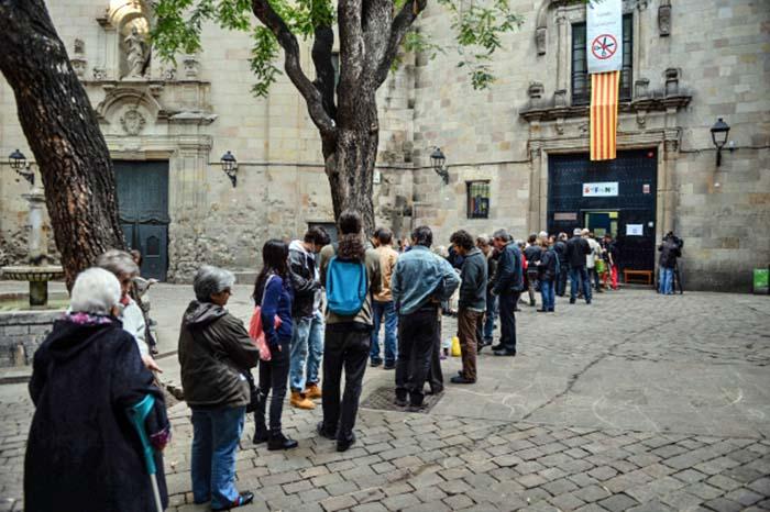 Опрос о независимости Каталонии