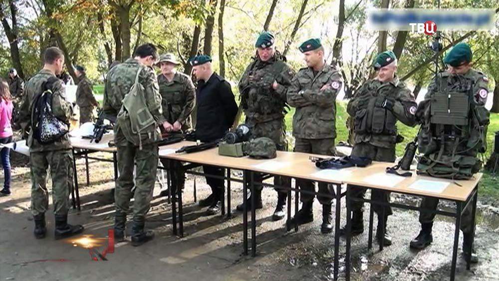 Военнослужащие польской армии