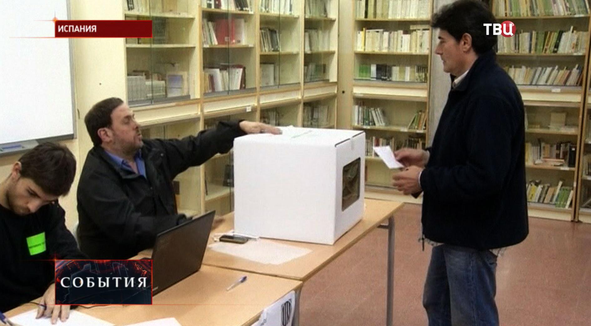 Выборы в Испании
