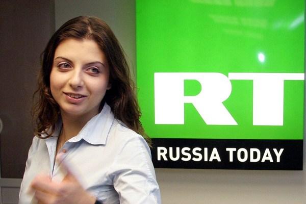 Главный редактор Russia Today Маргарита Симоньян
