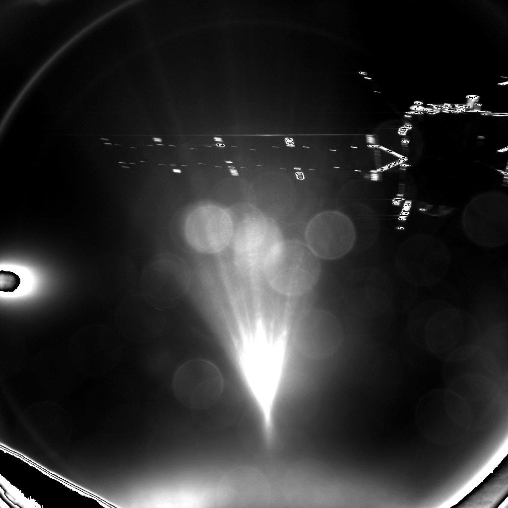 Космический модуль Philae отстыковался от зонда Rosetta