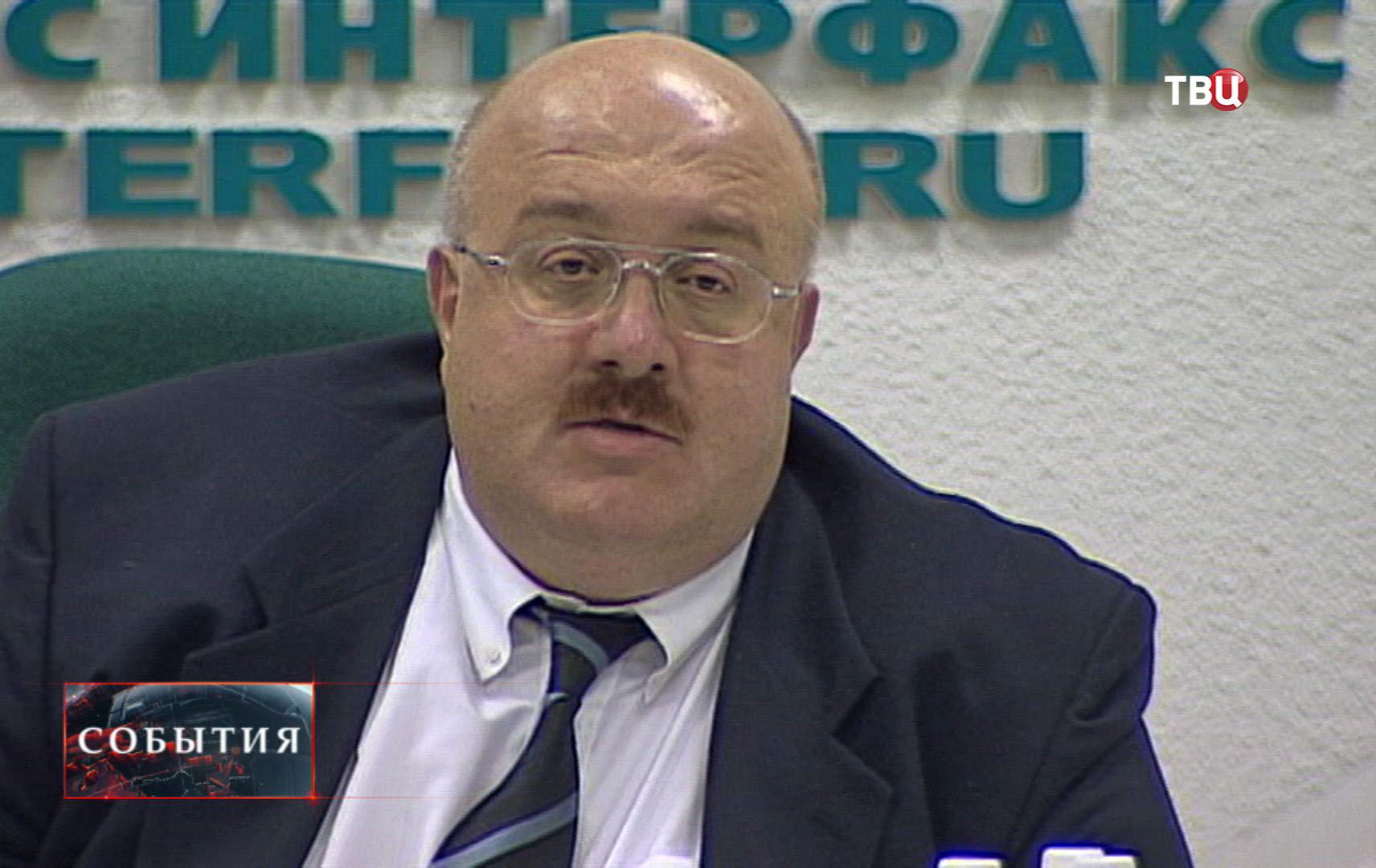 Экс-министр экономики Грузии Каха Бендукидзе